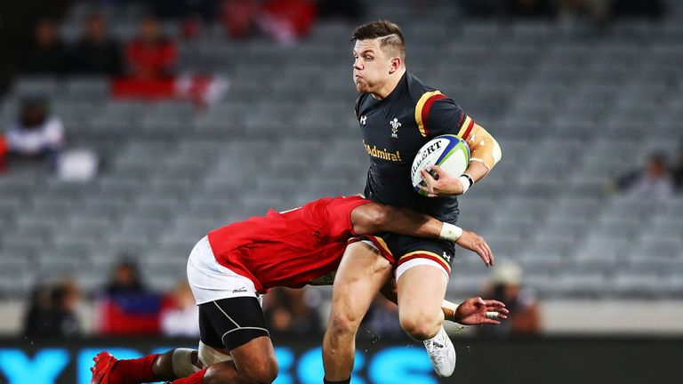 Evans earned his first Wales call-up for the summer tour to Tonga and Samoa