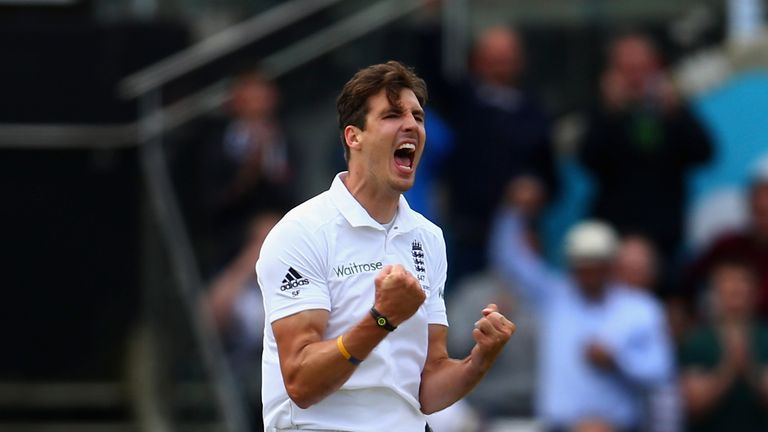 Steven Finn took six wickets against Australia at Edgbaston in 2015 as England regained the Ashes