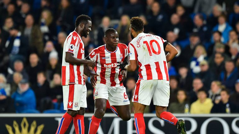 Eric Choupo-Moting put Stoke ahead at Brighton but they couldn't see out their lead