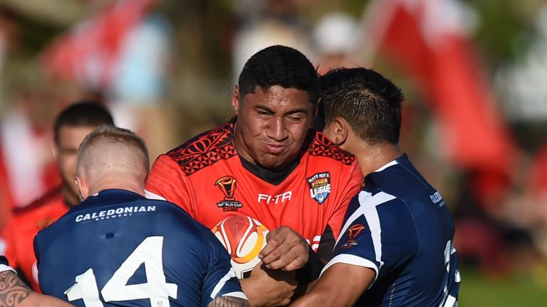 Jason Taumalolo was dominant in the forwards as Tonga recorded a 50-4 victory over Scotland