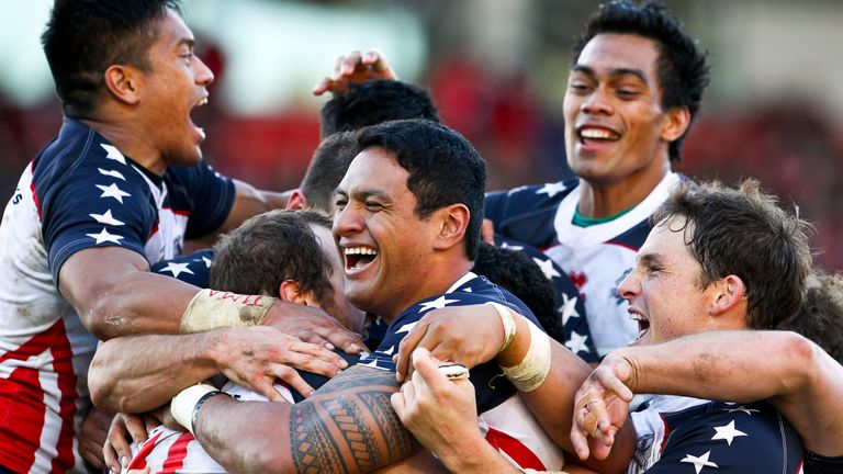 The USA made their first Rugby League World Cup in 2013 where they were knocked out by Australia in the quarter-finals