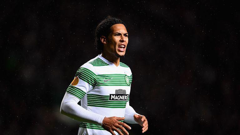 Former Celtic defender Virgil van Dijk will join Liverpool on January 1