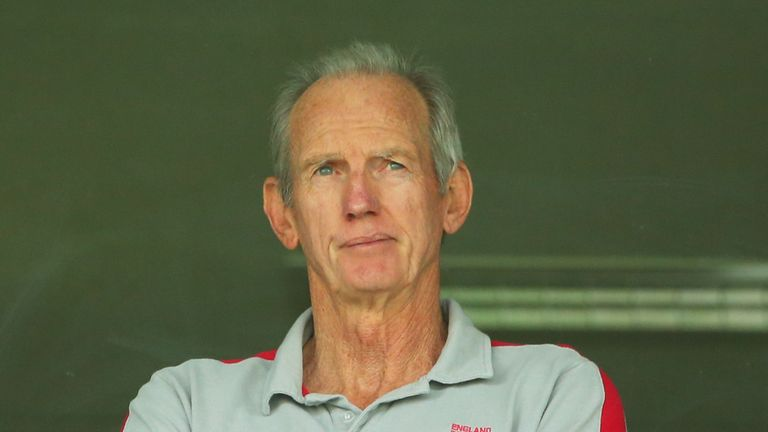 Wayne Bennett's contract as England's head coach comes to an end after the World Cup final