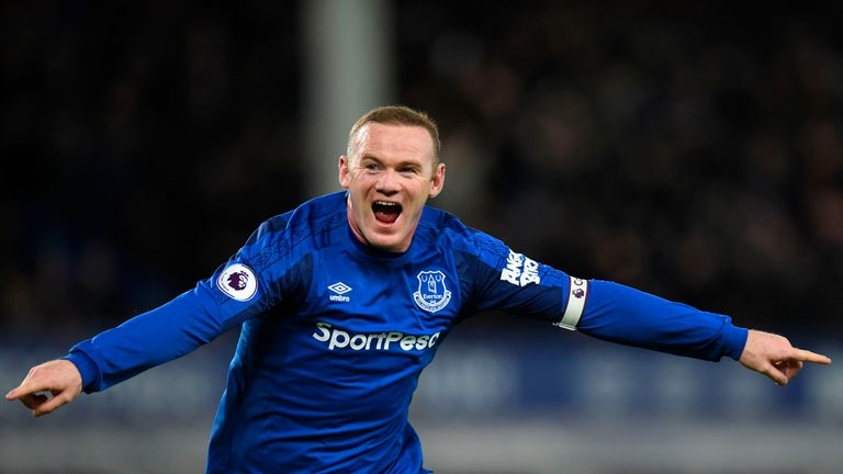 Wayne Rooney could return for Everton this weekend