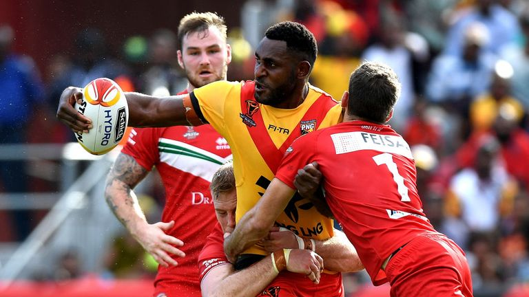 Betts is expecting a physical contest with PNG
