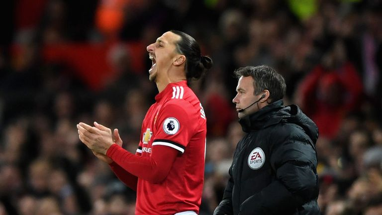 Zlatan Ibrahimovic will start on the bench for a second game