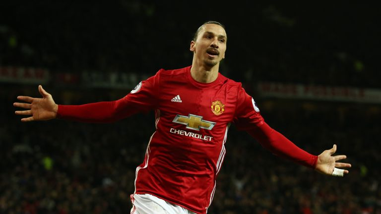 Zlatan Ibrahimovic was prolific for Manchester United last season but has struggled with injuries
