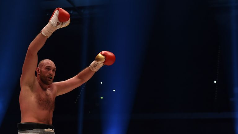 Fury was last seen in the ring when he beat Wladimir Klitschko on points in November 2015
