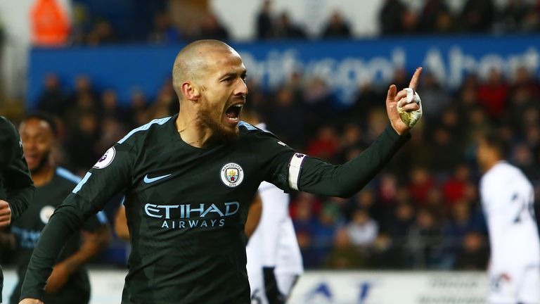 David Silva won Premier League Player of the Year at the 2017 Awards