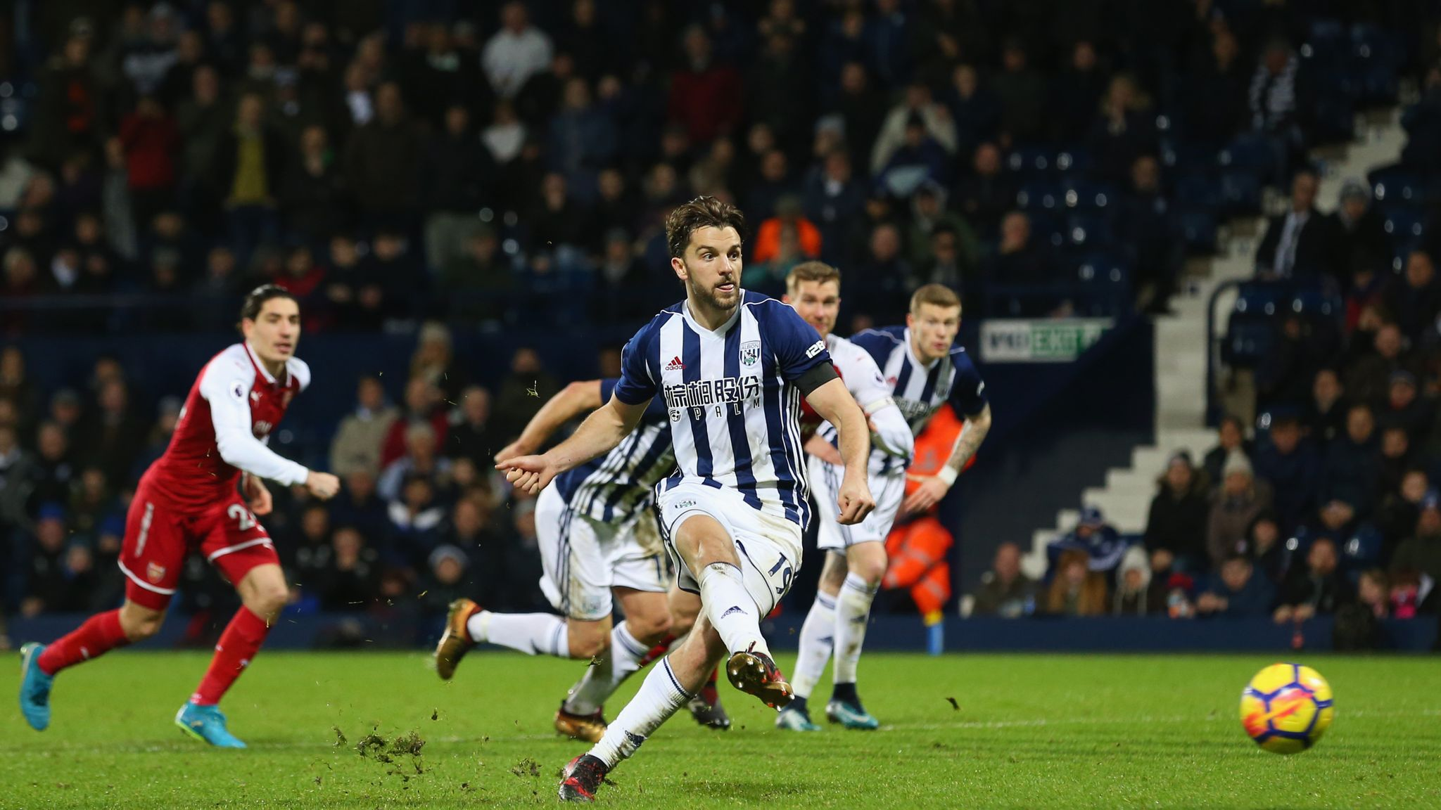 West Brom 1-1 Arsenal: Jay Rodriguez's controversial penalty denies Gunners  | Football News | Sky Sports