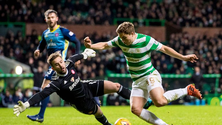 James Forrest got on the scoresheet for Celtic