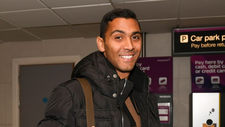 Marvin Compper arrived in Scotland on Tuesday and will become a Celtic player when the January transfer window opens
