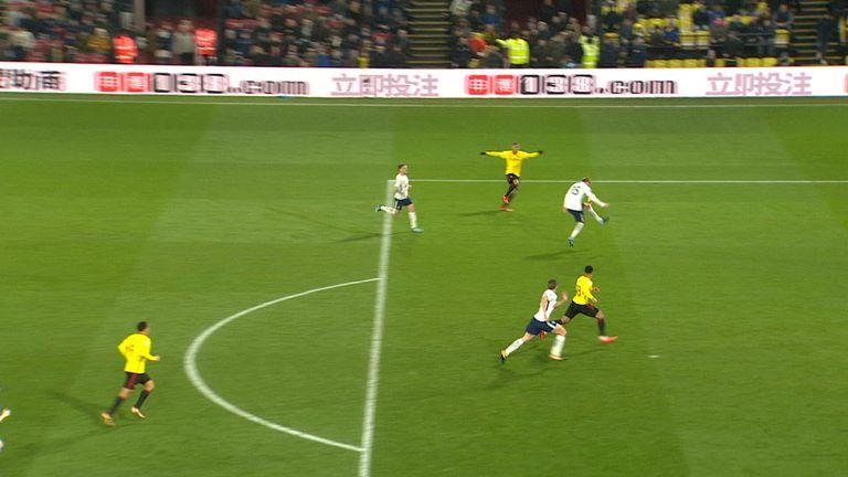 Watford denied two penalties against Spurs?