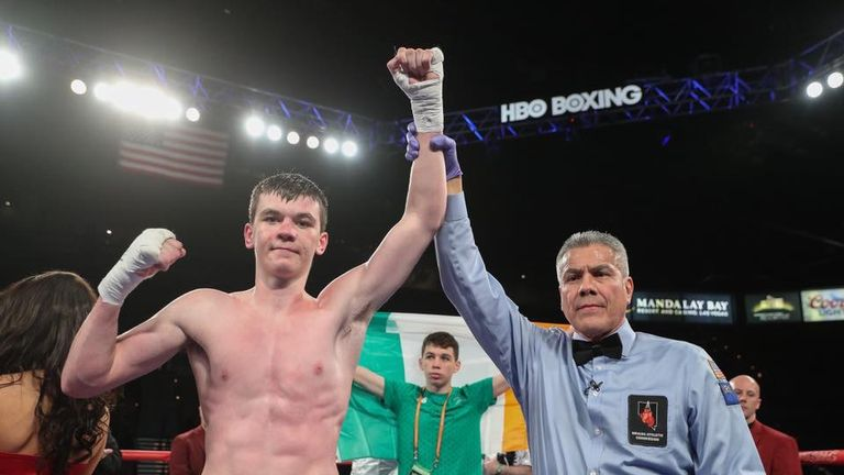Aaron McKenna claimed third victory of professional career this month