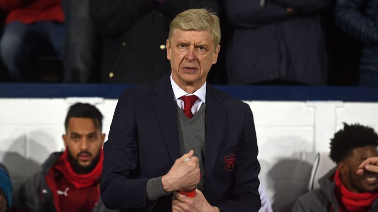 Arsene Wenger will serve the second game of his three-match touchline ban at Stamford Bridge