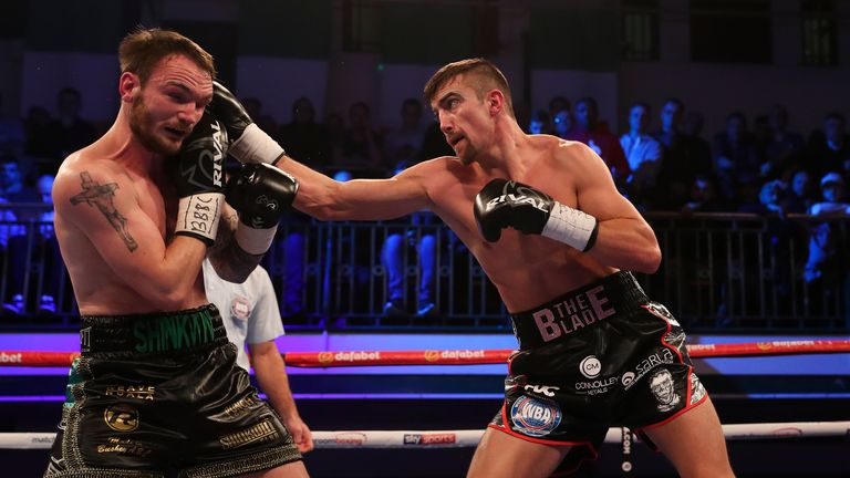 Ball dominated Shinkwin from start to finish at York Hall