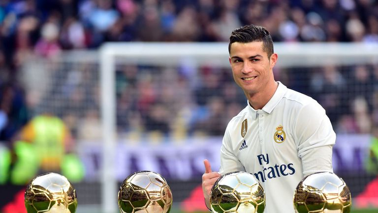 Cristiano Ronaldo added a fifth Ballon D'Or award to his personal trophy cabinet this week