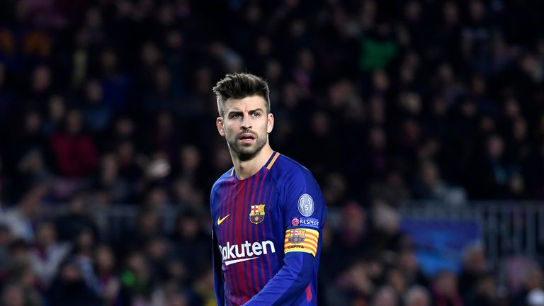 Gerard Pique played under Pep Guardiola for four years at Barcelona