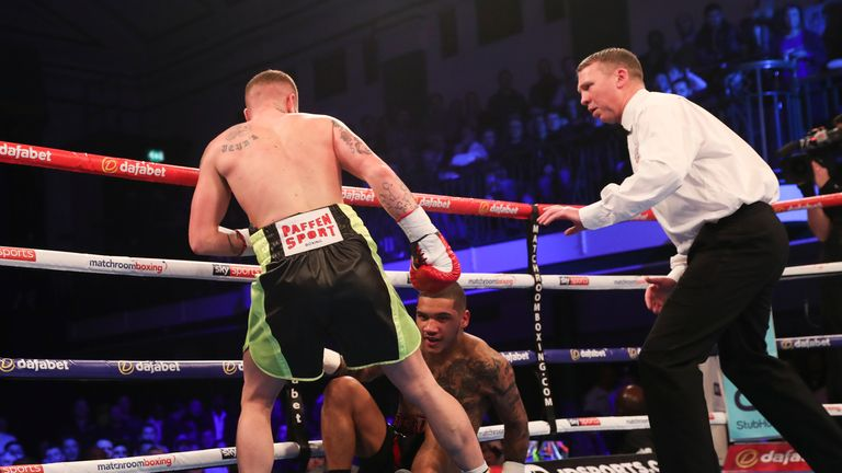 Conor Benn wants a rematch to put things right