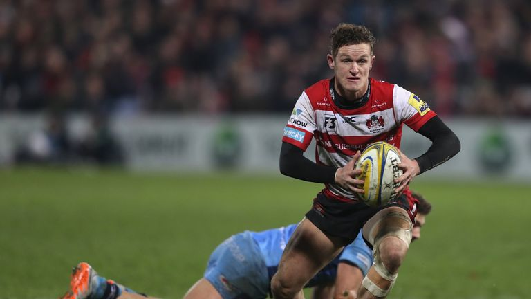 Billy Burns attacks for Gloucester