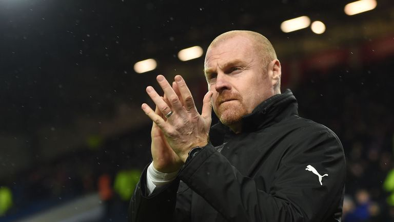 Sean Dyche stayed put at Turf Moor, despite reported interest from Everton