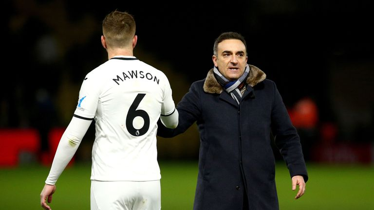 Swansea's players have all responded to Carlos Carvalhal's inspirational man-management techniques