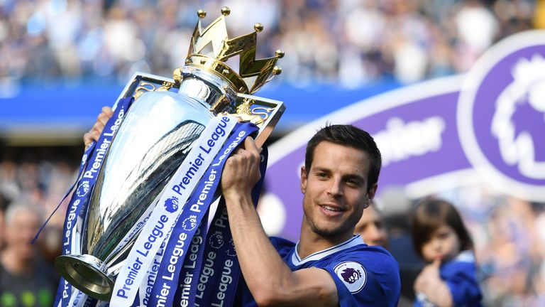 Cesar Azpilicueta played every minute of Chelsea's title-winning 2016/17 campaign