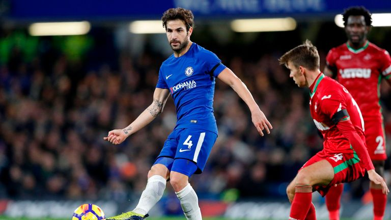 Cesc Fabregas has become a key figure for Chelsea this year