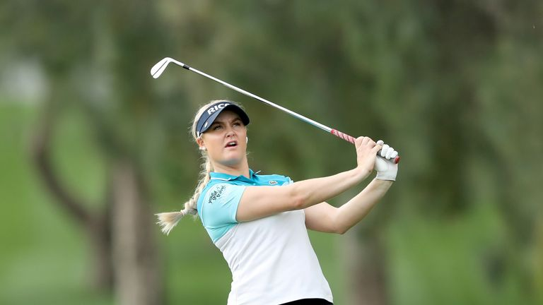 Charley Hull is targeting a maiden major success