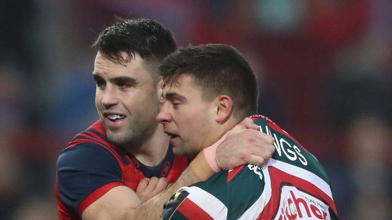Ben Youngs is set to return for Leicester