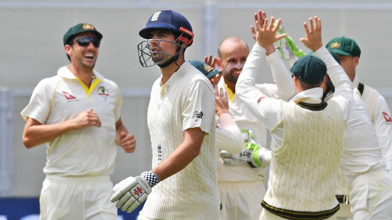 The former England captain admitted the start of the Ashes was a 'tough period' for him
