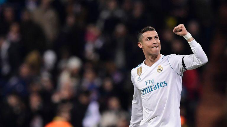 Cristiano Ronaldo hit another milestone