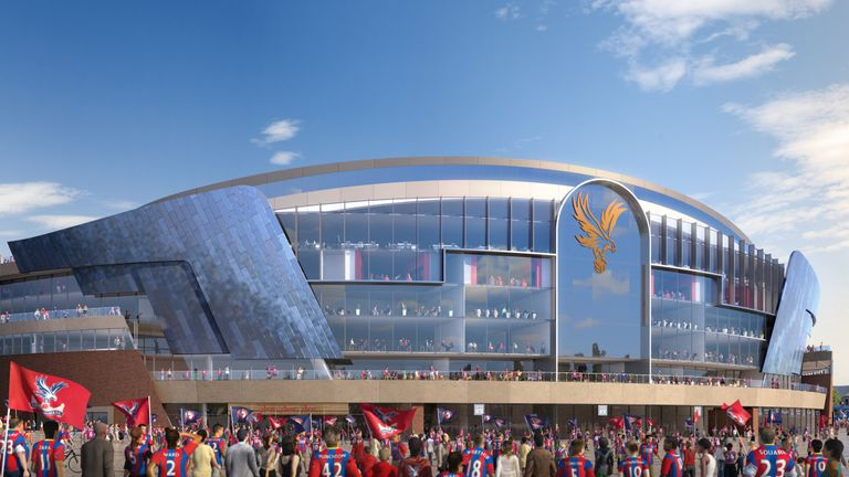 Crystal Palace have submitted their planning application for Selhurst Park redevelopments (credit: Crystal Palace)