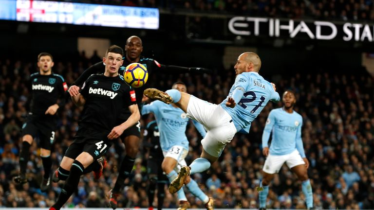Manchester City produced another late show against West Ham