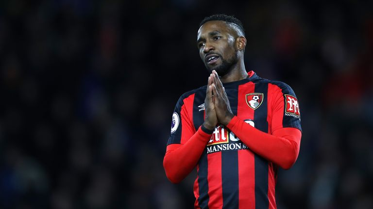 Bournemouth will have to make do without injured frontman Jermain Defoe when they host West Ham on Boxing Day