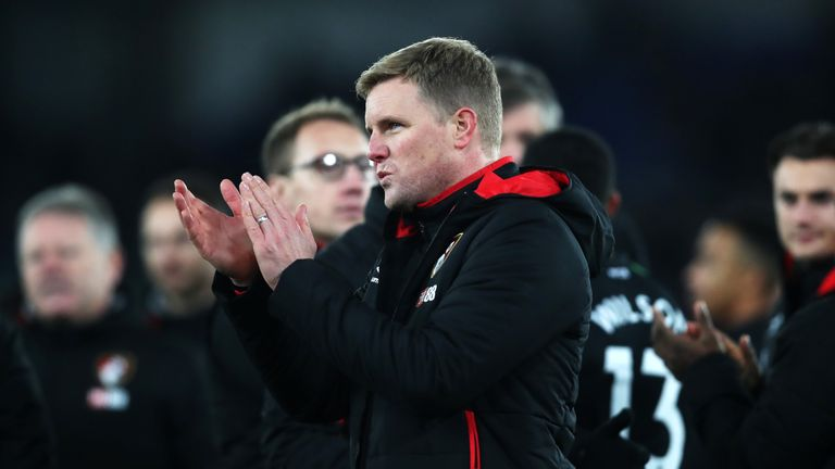 Eddie Howe has taken Bournemouth from League Two to the Premier League