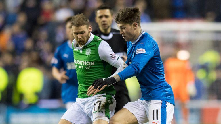 Windass (R) scored Rangers' equaliser