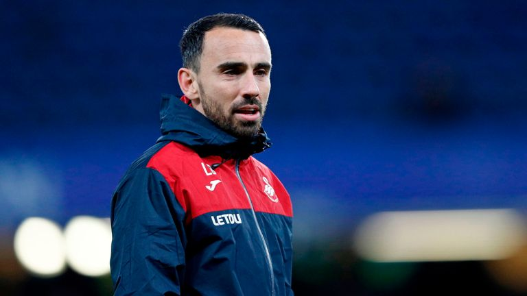 Leon Britton is in caretaker charge of struggling Swansea