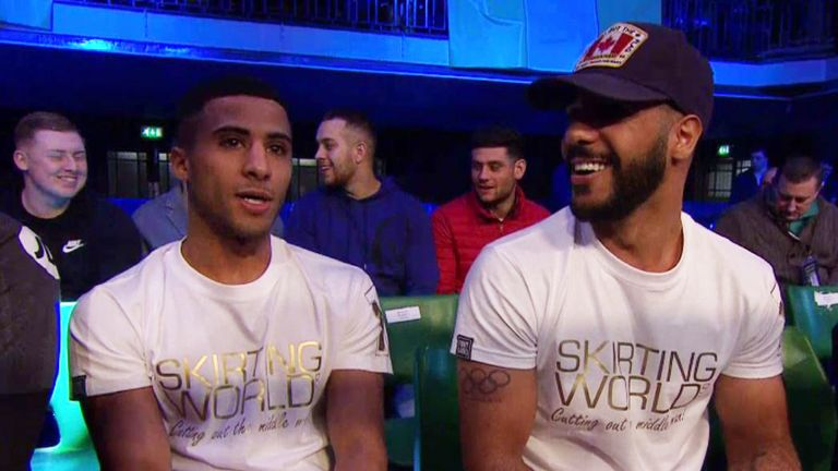 Gamal's brothers Galal and Kal Yafai are expected to be watching him in Sheffield