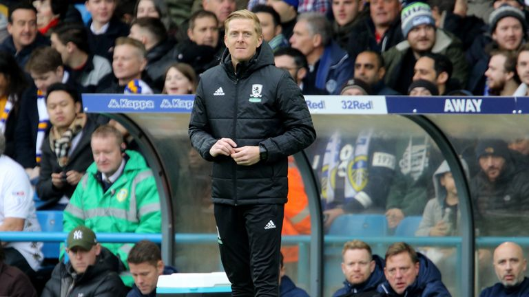 Garry Monk was sacked following Middlesbrough's 2-1 win at Sheffield Wednesday on Saturday