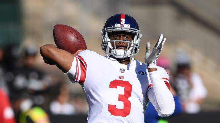 Geno Smith's run as Giants starter lasted just one game