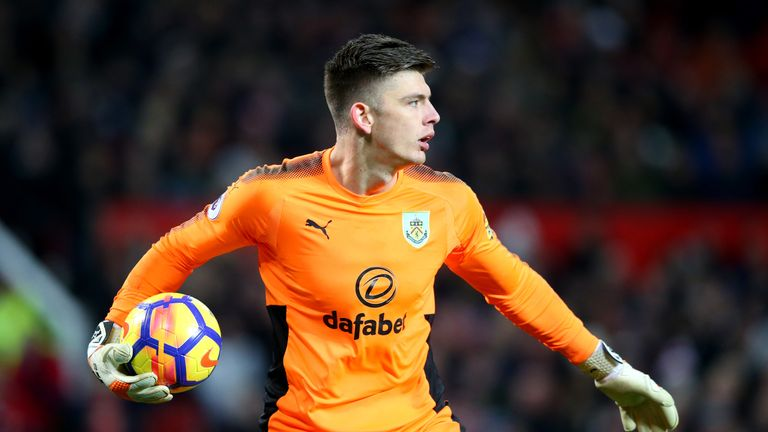 Nick Pope has impressed at Burnley