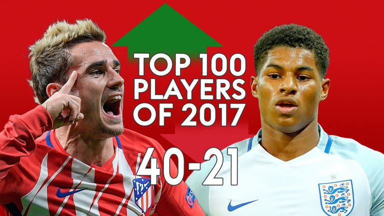 Top 100 players of 2017: Full list | Football News | Sky Sports