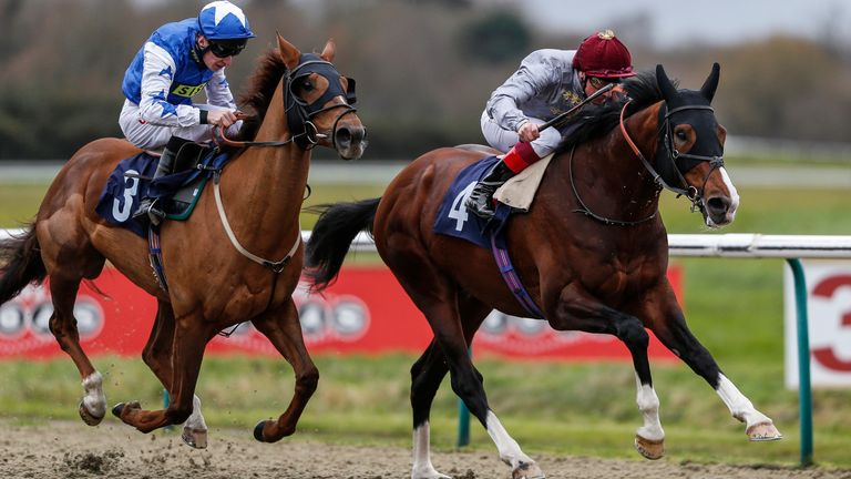 Toast Of New York winning at Lingfield