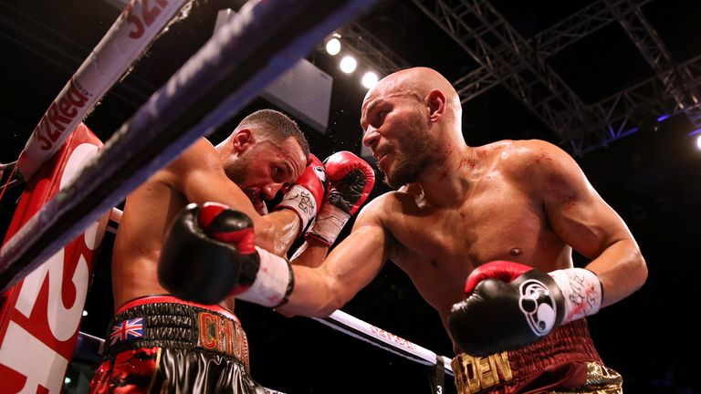 DeGale lost his belt to Caleb Truax in December 2017 before winning the rematch