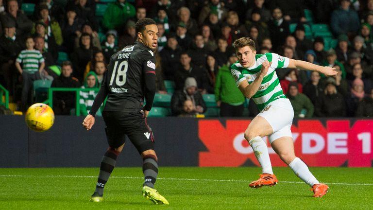 James Forrest makes it 5-1 to Celtic