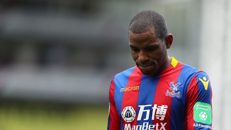 Crystal Palace winger Jason Puncheon has been ruled out for the rest of the season