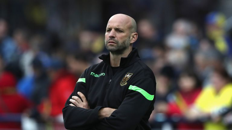 Boyd replaces Jim Mallinder, who was sacked in December