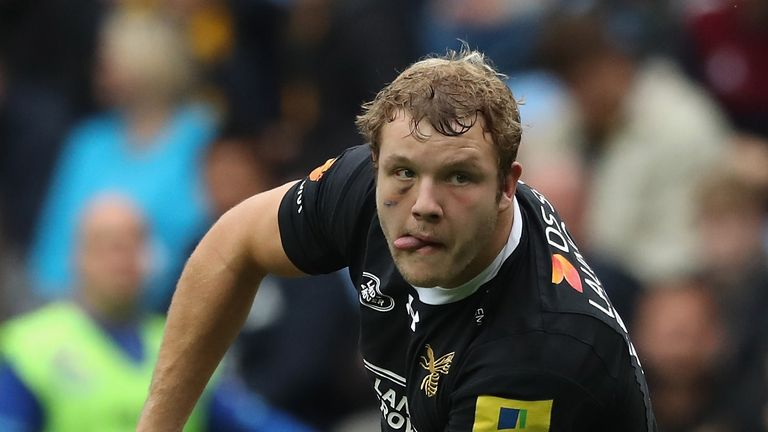 Joe Launchbury has committed himself to Wasps