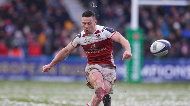 John Cooney slotted four penalties to help Ulster claim an important win